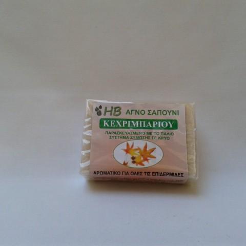 Φυτικό σαπούνι κεχριμπαριού