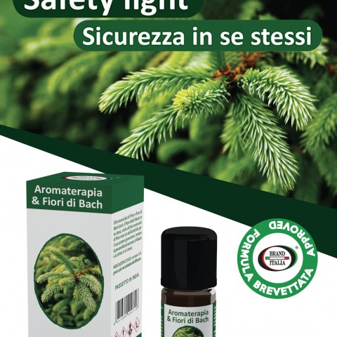 SAFETY LIGHT ΠΕΥΚΟ ΚΑΙ LARCH